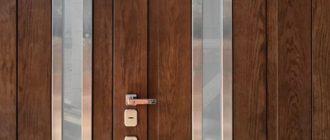 Входные двери новый мир
