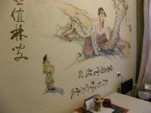 Роспись стен своими руками. Трафаретная роспись