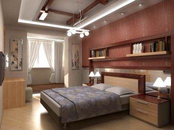 Дизайн и интерьер спальни