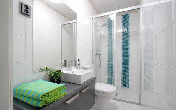 Оригинальные приемы, позволяющие визуально расширить ванную комнату