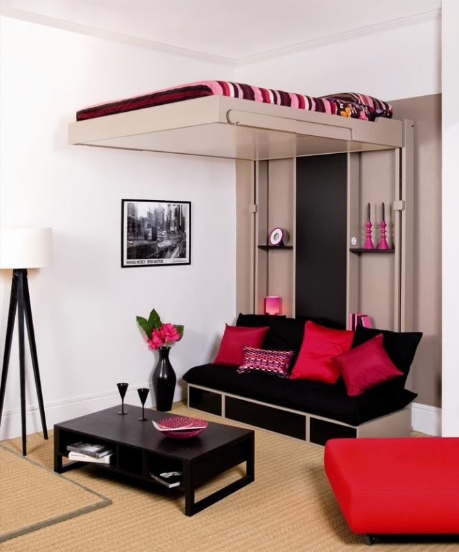 Организация пространства в маленькой спальне