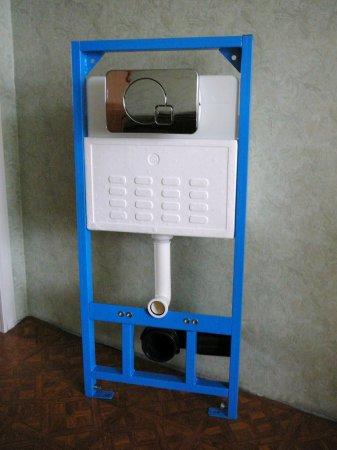 Устройство и правила монтажа подвесного унитаза с инсталляцией