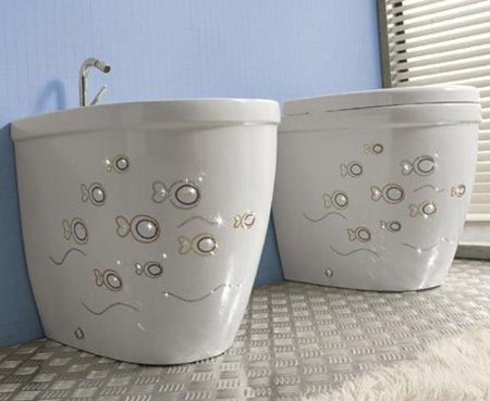 Биде: особенности, выбор, место в интерьере ванной комнаты