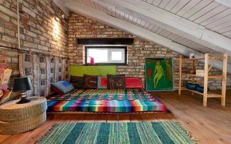 Дизайн интерьера мансарды – от проекта до мебели